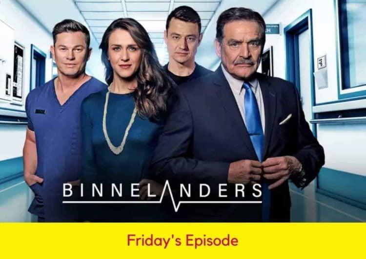 Binnelanders Sopaie Teasers Friday.