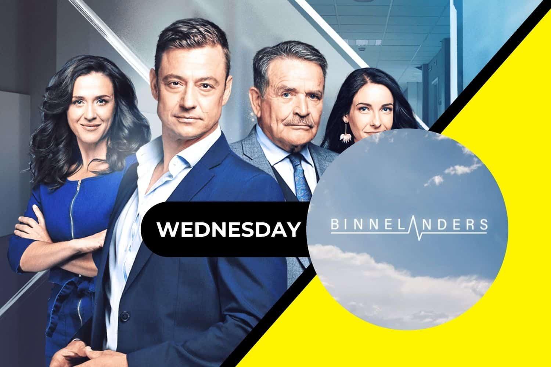On today's episode of Binnelanders 6 October 2021, Wednesday.