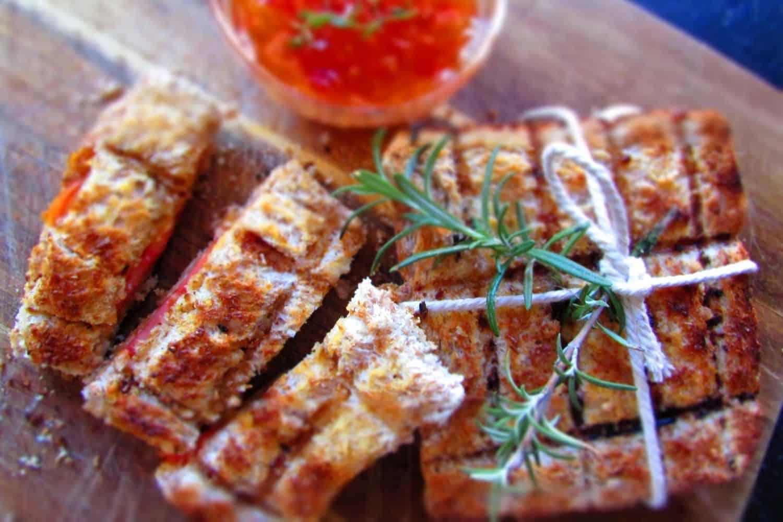 Rosemary infused Braai Broodjies