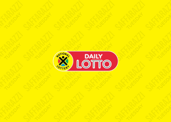 The Daily Lotto Results for Tuesday