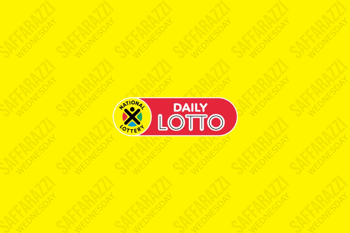 The Daily Lotto Results for Wednesday
