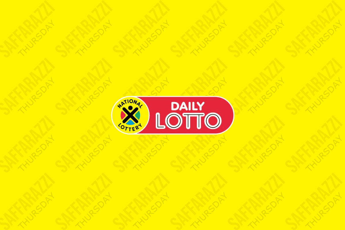The Daily Lotto Results for Thursday