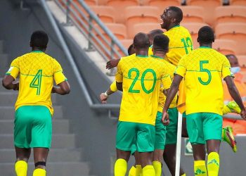 Bafana Bafana remains at the top of Group G after beating Ethiopia