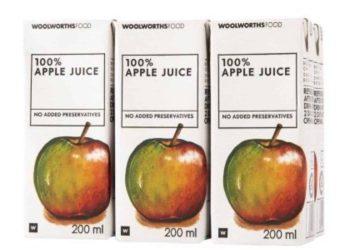 Woolworths apple juice recalled after mould infestation